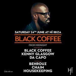 Black Coffee Hï Ibiza