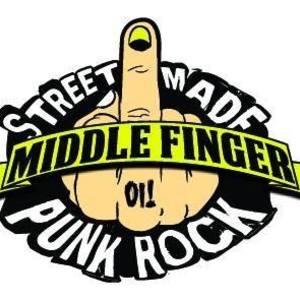 Middle Finger Punk Rock Torino