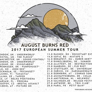 August Burns Red Eningen