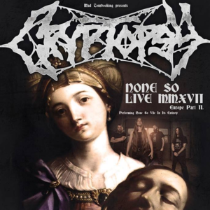 Cryptopsy The Voltage Lounge