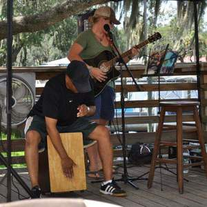 Cristi Massey & John Campbell Acoustic Duo Four Stacks Brewing