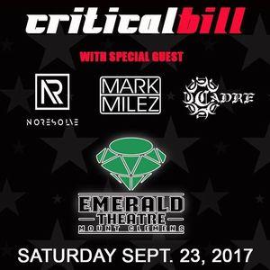 Critical Bill Emerald Theatre