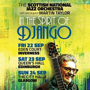 Scottish National Jazz Orchestra Eden Court Theatre