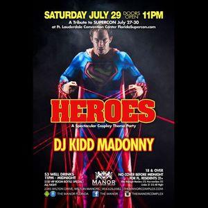 DJ Kidd Madonny Belly Up