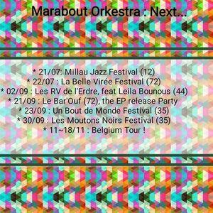 Marabout Orkestra LE BAR'OUF