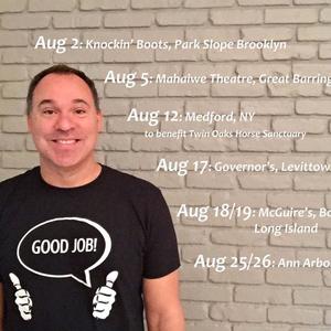 Andy Pitz, Comedian thru 18th Comedy Nest