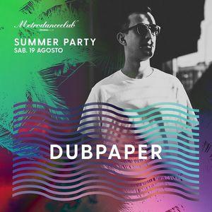 DUBPAPER Summer Party MDC