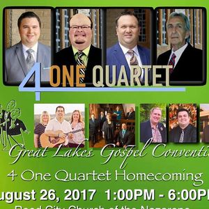 4 One Quartet Great Lakes Gospel Convention / Homecoming Reed City Church of the Nazarene