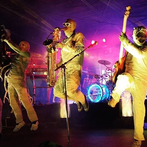 Here Come the Mummies Tipitinas