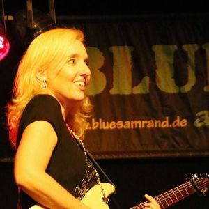 Vanesa Harbek Blues Band Biergarten am Kiebitz