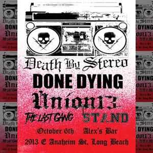 Death by Stereo Alex's Bar
