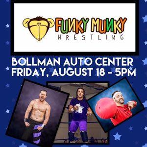 Funky Munky Wrestling Elizabeth Municipal Gymnasium