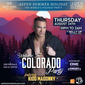 DJ Kidd Madonny Sailaway event