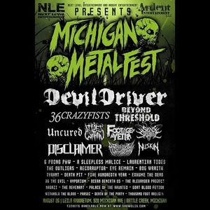 Dead Eyes Always Dreaming Michigan Metal Fest