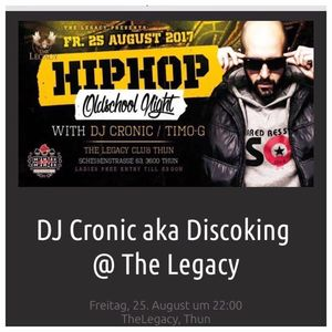 DJ Cronic aka Discoking / www.djcronic.com TheLegacy