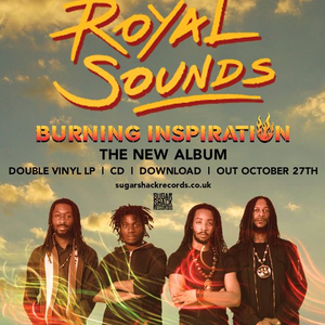 Royal Sounds Lion Vibes Record Shop