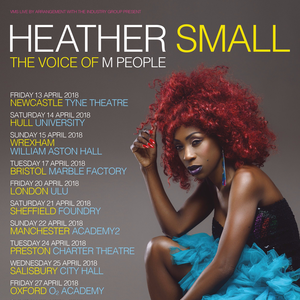 Heather Small - The Voice Of M People Warehouse23