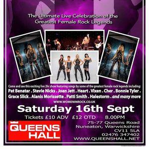 Women In Rock UK The Muni Arts Centre