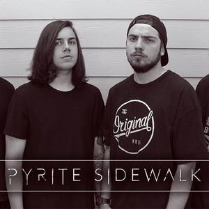 Pyrite sidewalk Lodi