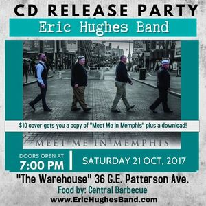 Eric Hughes Music CD Release Partu at The Warehouse