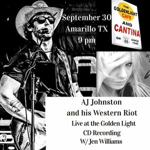 AJ Johnston and his Western Riot Golden Light Cantina