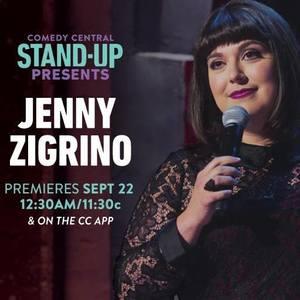 Comedian Jenny Zigrino Irvine