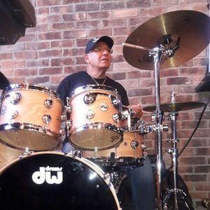 Calixto Oviedo on Drums Santa Monica