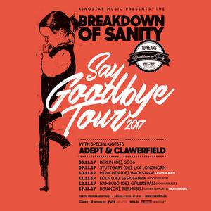 Breakdown Of Sanity Backstage Halle