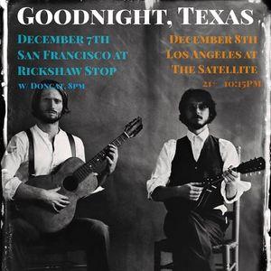 Goodnight, Texas Rickshaw Stop