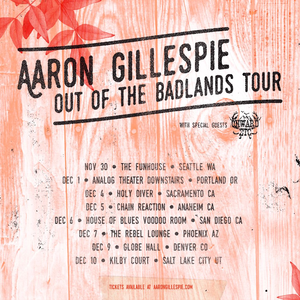 Aaron Gillespie Higher Ground