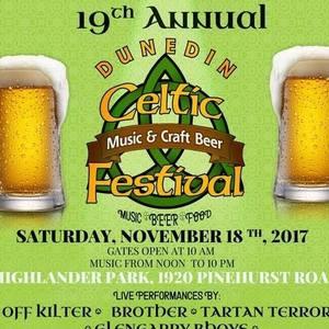Dunedin Celtic Music & Craft Beer Festival Hudson
