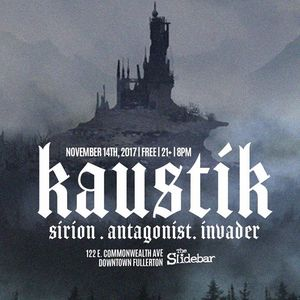 Kaustik Come and Take It Live
