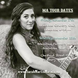 Sarah Martin Music Winchester