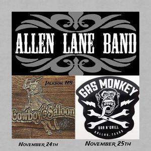 Allen Lane Band Gas Monkey Bar N' Grill