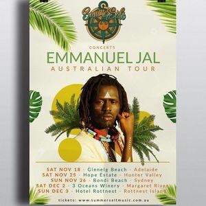 Emmanuel Jal 3 Oceans Winery