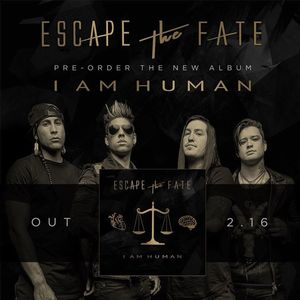 Escape the Fate JC De Klinker