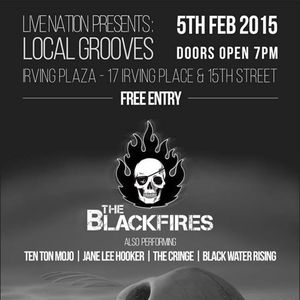 The Blackfires Irving Plaza