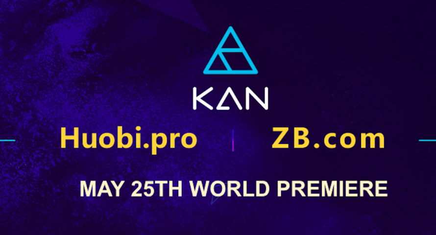 BitKan KAN Token Now Listed On Huobi Pro ZB Exchanges