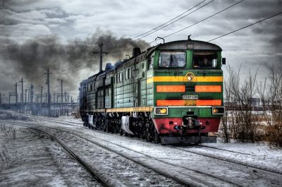 train in Russia