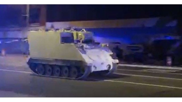 BCH developer in armored vehicle