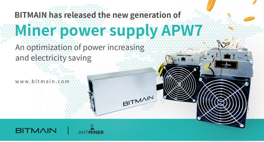 Bitmain Optimizes Power And Electricity Savings With Apw7 Next Gen
