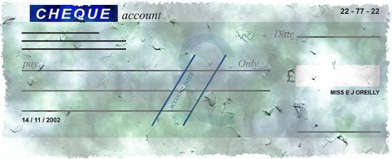 Monetary Authority of Singapore cheque