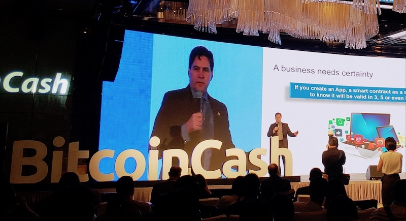 Craig Wright Bitcoin Cash