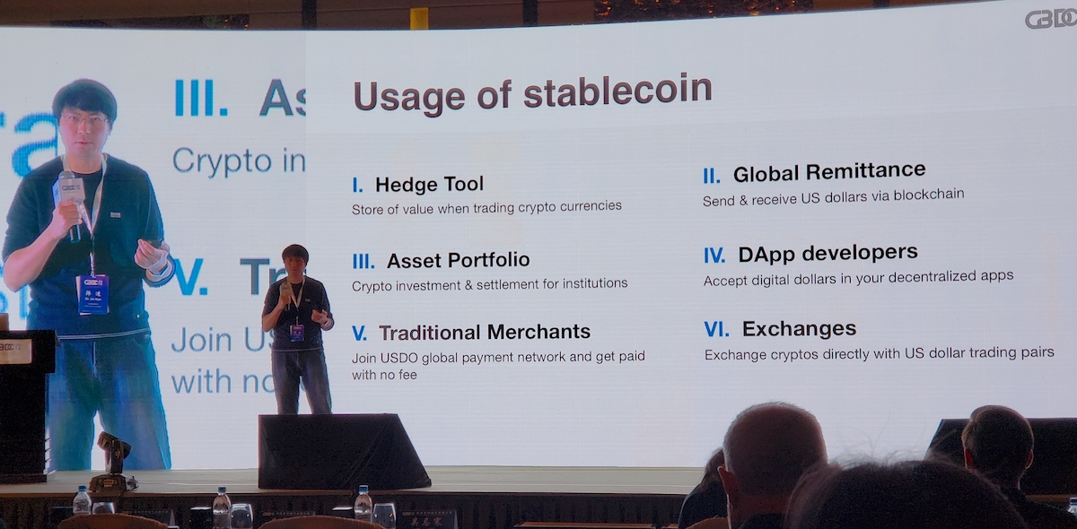 Dr. Jin Han, USDO on stablecoins