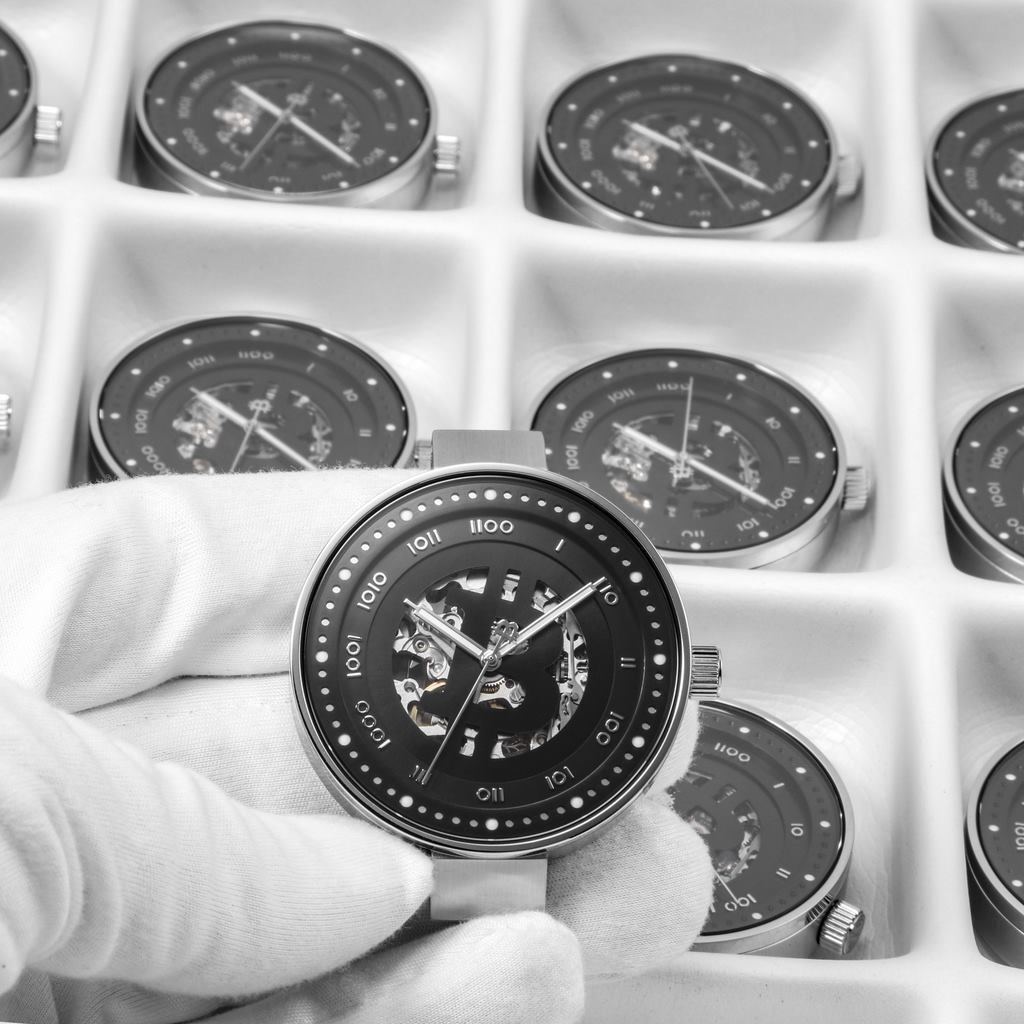Cryptomatic watches