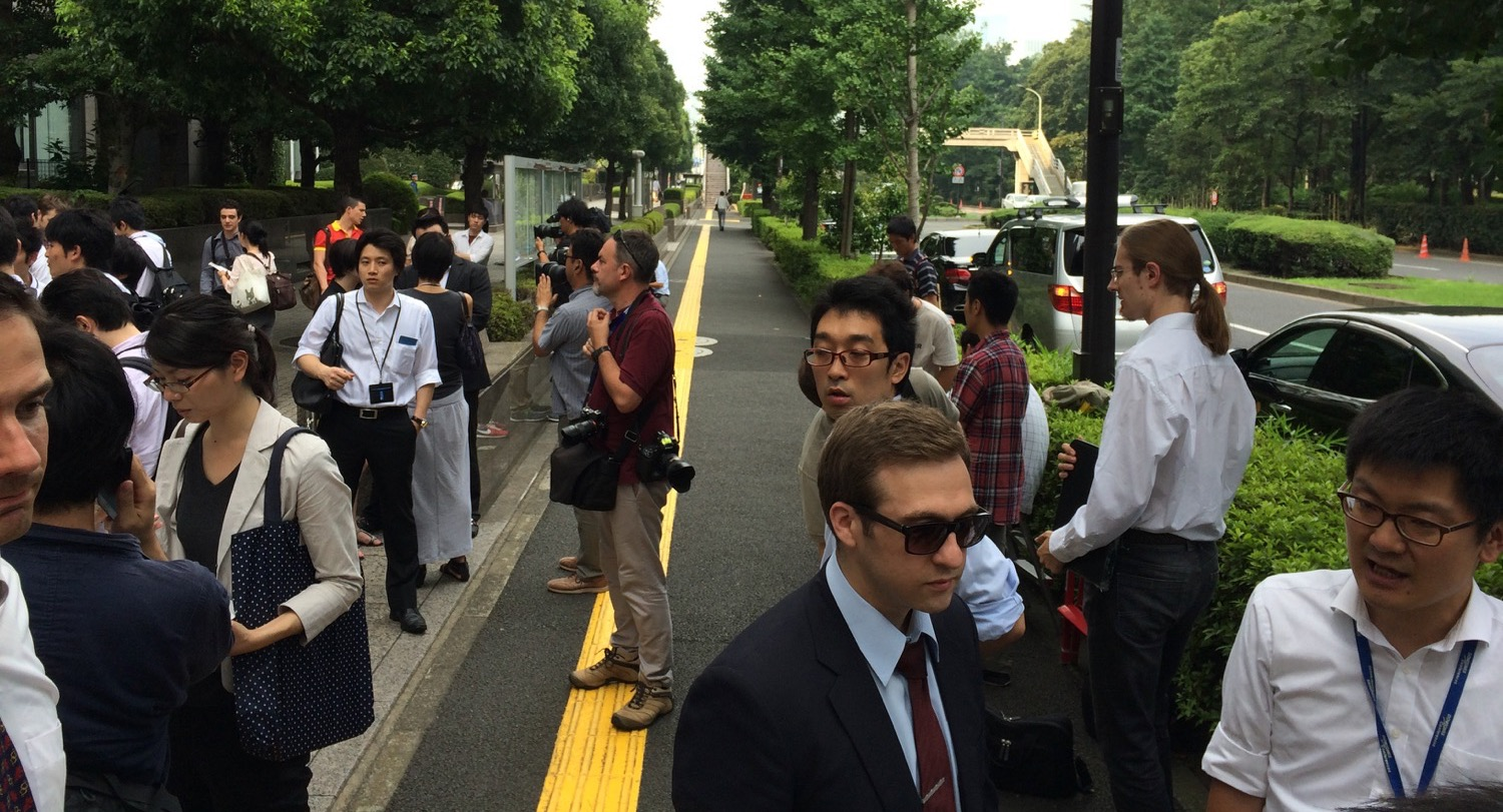 Mt. Gox creditors at the Tokyo District Court