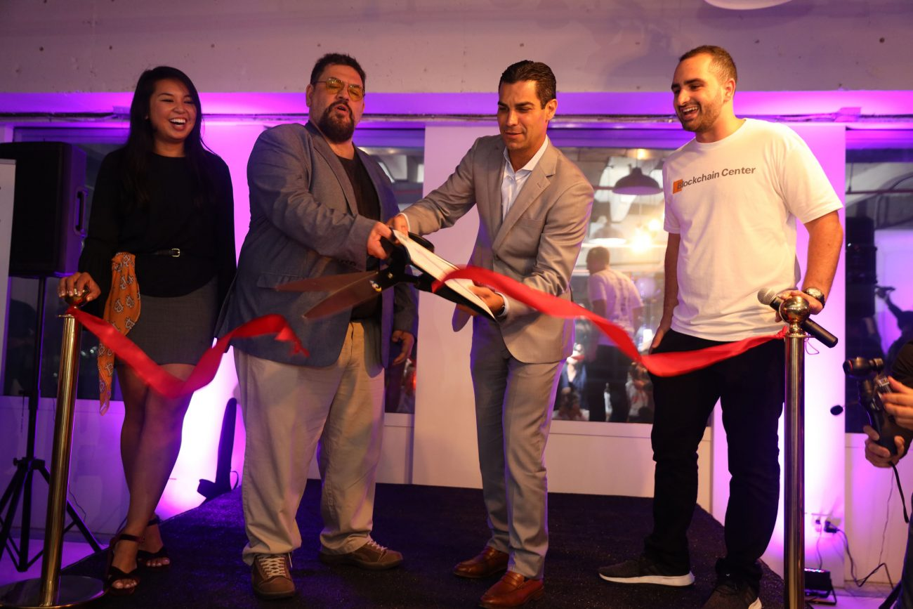 Miami Blockchain Center Opens With Epic Launch Party