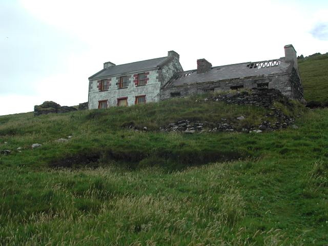 Deserted home of Peig Sayers