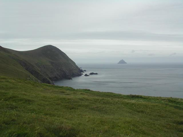 The western end of the Great Blasket, called