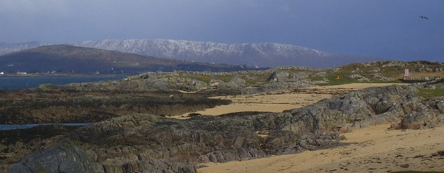 Conamara beach in Winter